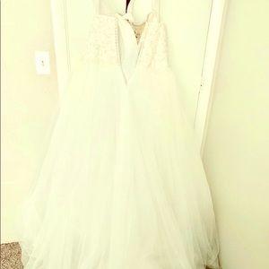 Wedding dress, ball gown